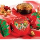 Amaretti Virginia Tropical Fruit Panettone in Christmas Bon-Bon Wrapping 1kg