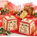 Amaretti Virginia Tall Panettone in Decorative Hanging Box