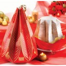Amaretti Virginia Classic Pandoro 700g in red hanging box