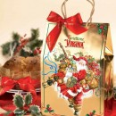 Amaretti Virginia Classic Panettone in Christmas Gift Bag