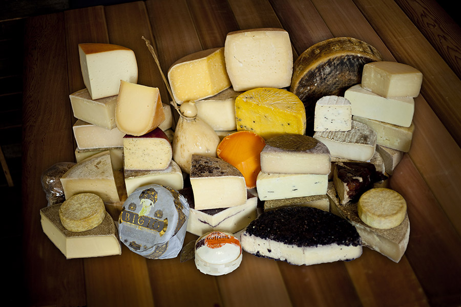 A huge selection of semi-hard and hard sheep, goat, cow, buffalo & mixed milk cheeses from Australia, Italy, France, Spain, Switzerland, Holland, UK & USA