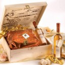 Amaretti Virginia Panettone and Moscato Gift Box