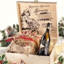 Amaretti Virginia Classic Panettone Gift Box with Sweets and Moscato