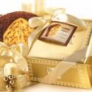 Amaretti Virginia Tiramisu Panettone in Gold Gift Box