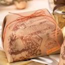 Amaretti Virginia Tropical Fruit Panettone 1kg in Paper Gift Wrap
