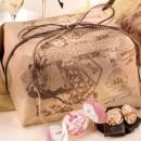 Amaretti Virginia Amaretti and Choc Chip Panettone 1kg in Paper Gift Wrap