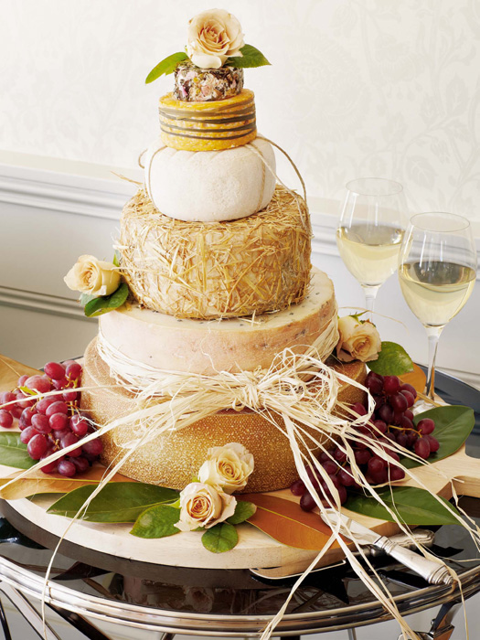 Formaggi Ocello Cheese Wedding Cake 02