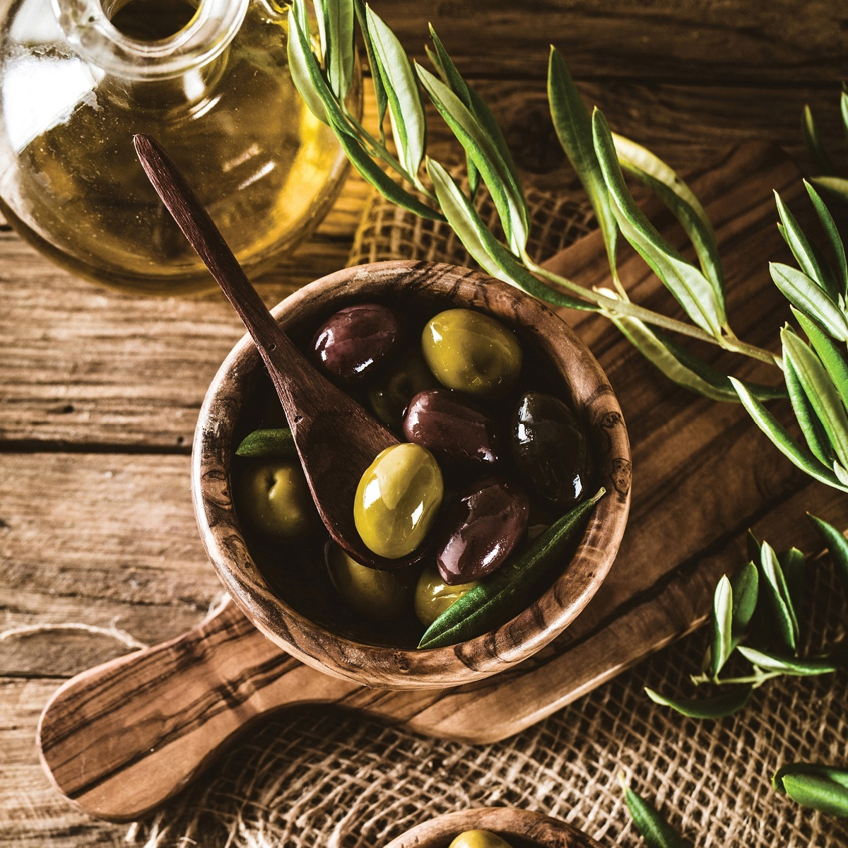 Olives & Antipasti