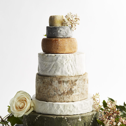 Citadel Cheese Wedding Cake