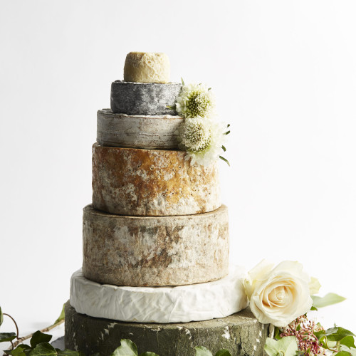 Exquisite Cheese Wedding Cake