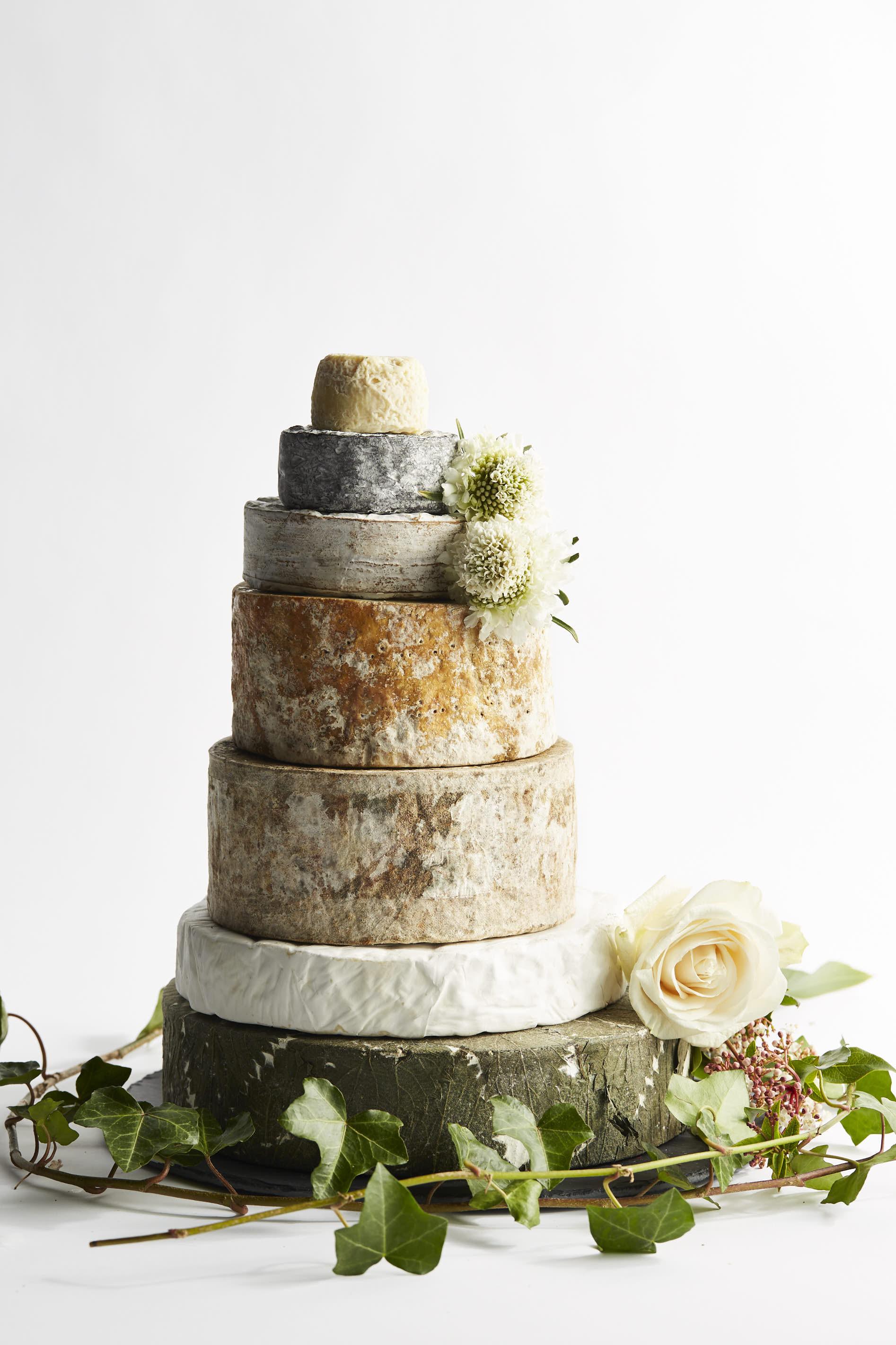 Exquisite Cheese Wedding Cake - Formaggi OcelloFormaggi Ocello