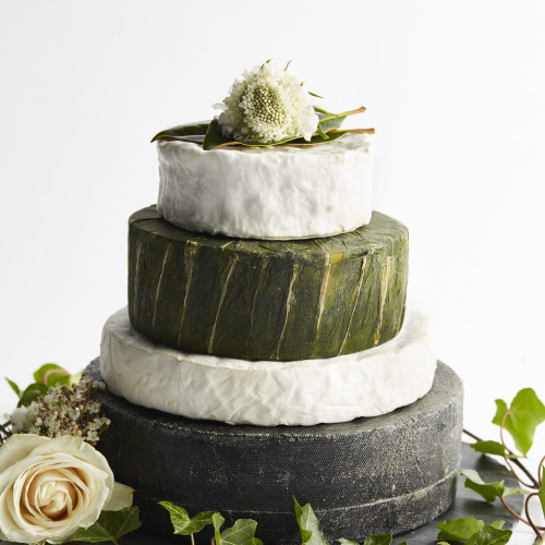Infinity Cheese Wedding Cake