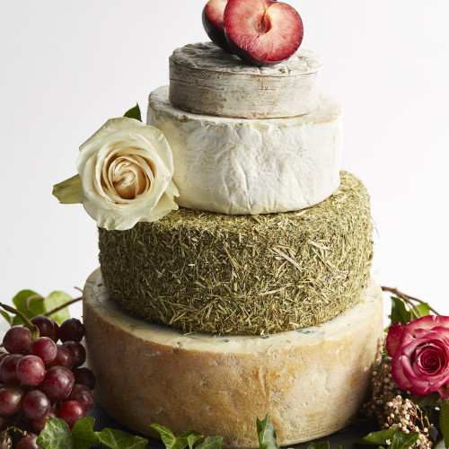Amour Cheese Wedding Cake