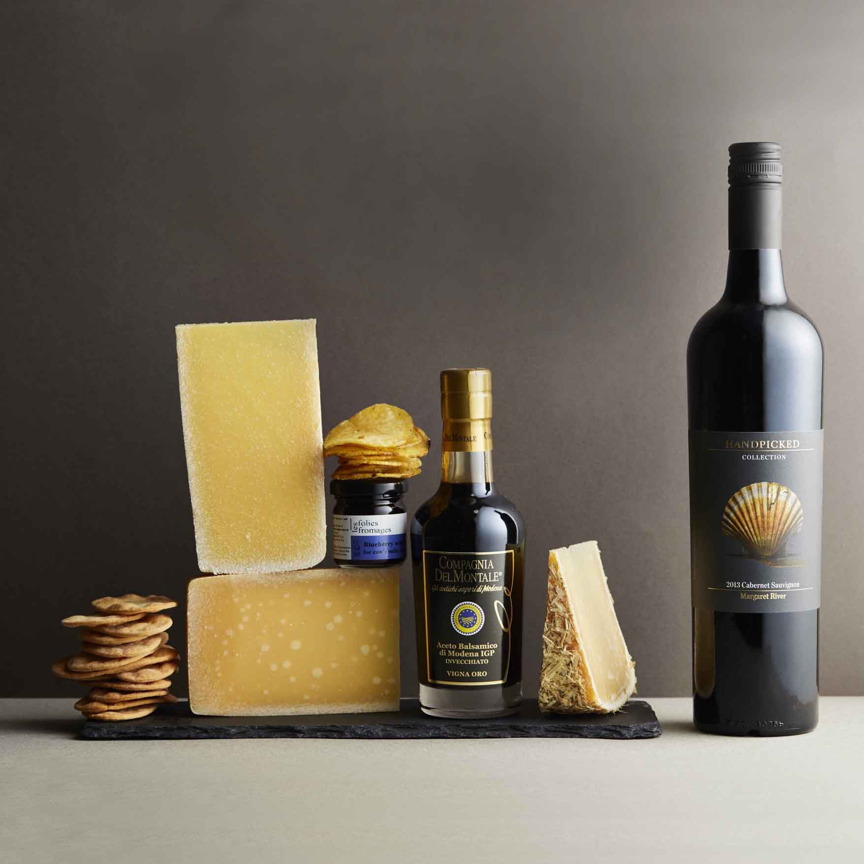 Cheese and Wine Selections